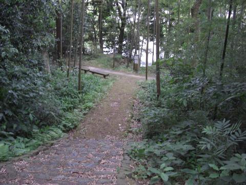 竹林の小径(城山)