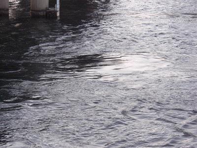 大橋川の渦潮