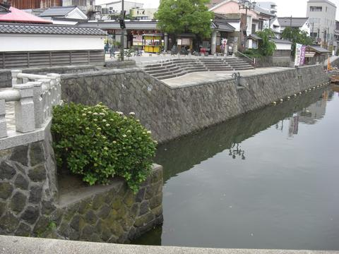東(ひがし)京橋のあじさい